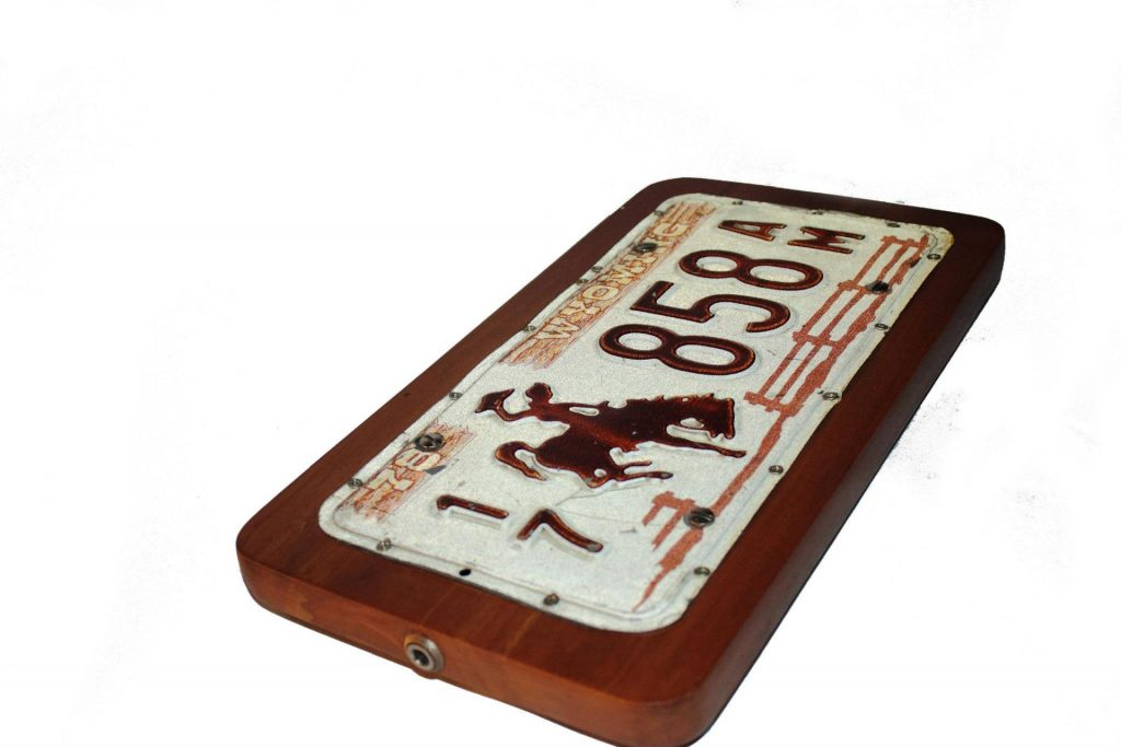 Photo of Licence Plate Stomp Box