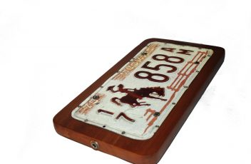 Licence Plate Stomp Box